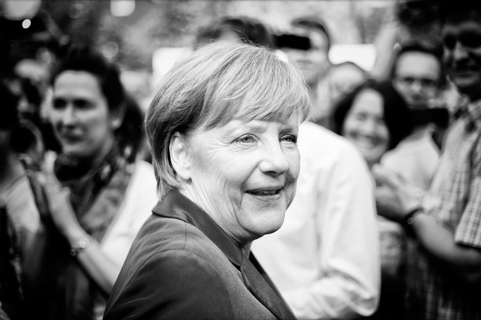 Angela Merkel in Olpe