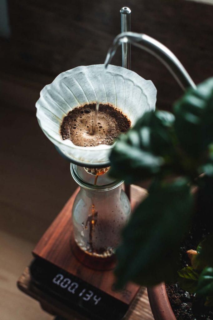 Filterkaffee brühen