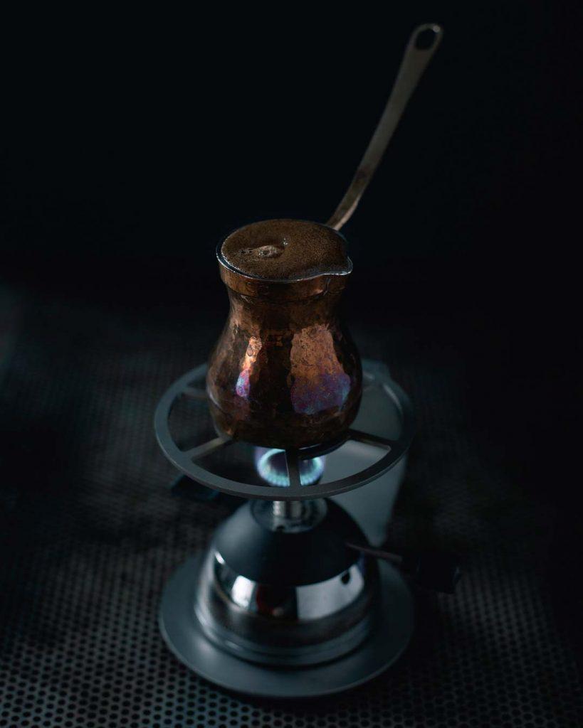 Kaffee kochen mit Cezve Ibrik