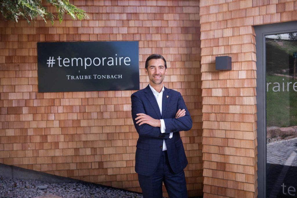 Portrait von Stephane Gasse, Direktor des Restaurants Traube Tonbach