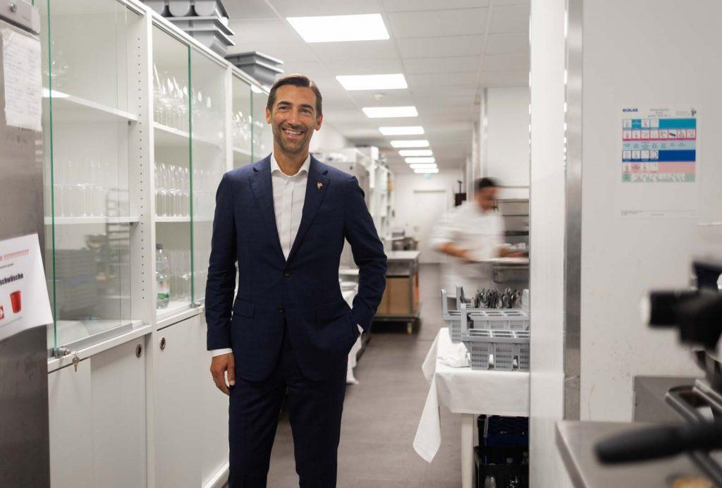 Stephane Gasse, Direktor des Restaurants Traube Tonbach