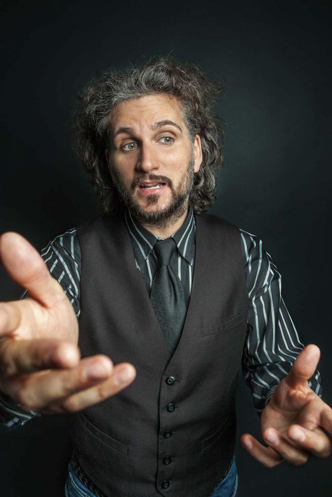 Schauspieler Michael Heuel Studioportrait