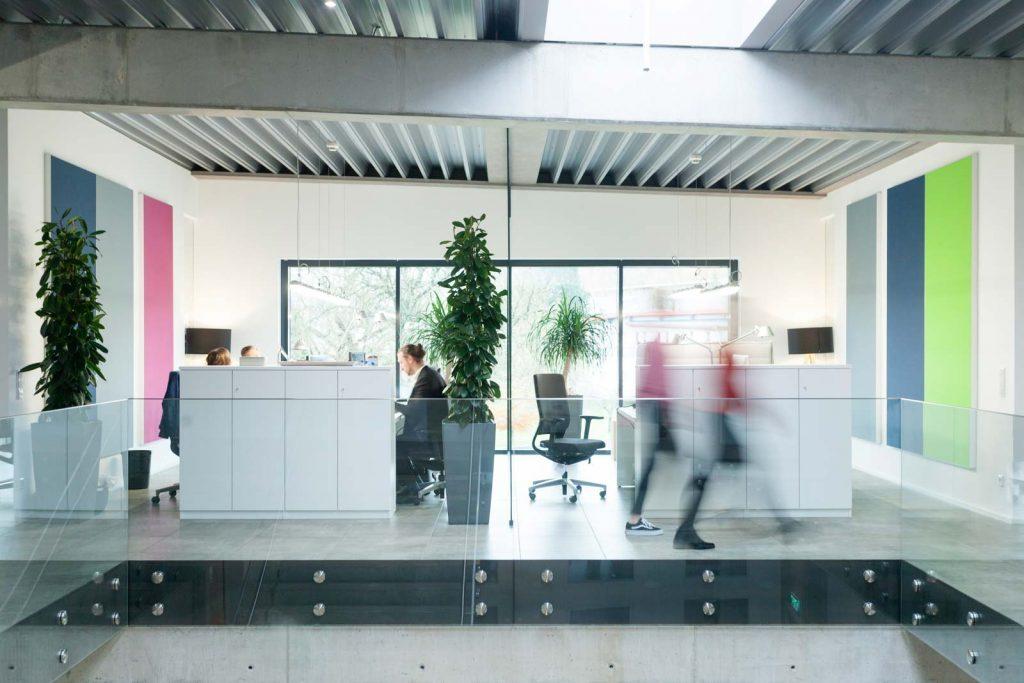 Büro Interieur von Open Xchange