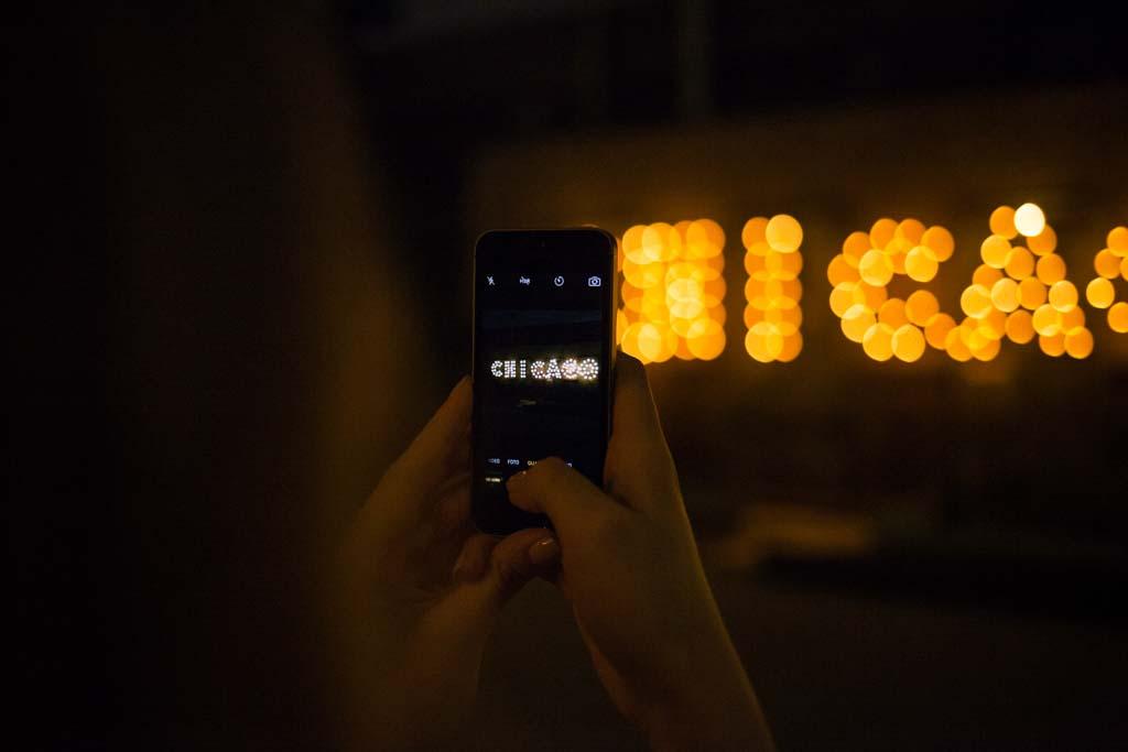 Chicago Leuchtreklame