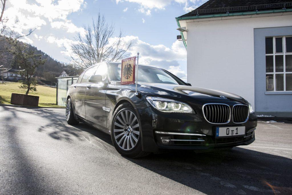 Auto des Bundespräsidenten